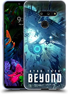 Official Star Trek USS Enterprise NCC-1701 Swarmed Posters Beyond XIII Soft Gel Case Compatible for LG G8 ThinQ