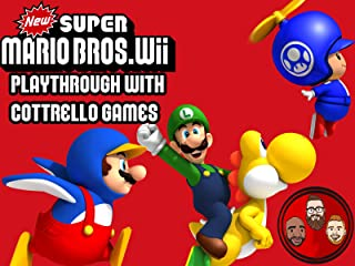 New Super Mario Bros. Wii Multiplayer Playthrough with Cottrell Games