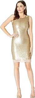Best calvin klein gold sequin dress Reviews