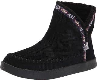 Sanuk Women's Nice Bootah Cord Boot, Black, 7 M US