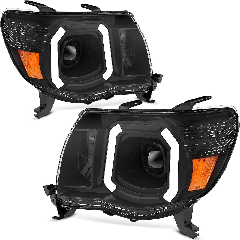 OEDRO 返品送料無料 Headlight 国内在庫 Assembly Compatible with 2005-2011 Tacoma Toyota