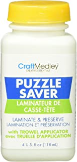 Craft Medley GL600 Non-Toxic Puzzle Saver With Trowel Applicator , 4 Ounce