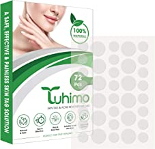 TUHIMO Skin Tag Remover Patches - Natural and Fast-Acting Skin Remover Patches - Acne, Dark Spot, Wart and Skin Removal Pa...