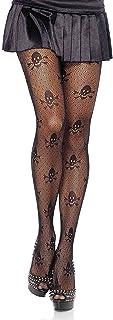 Leg Avenue Women's Skull Net Tights