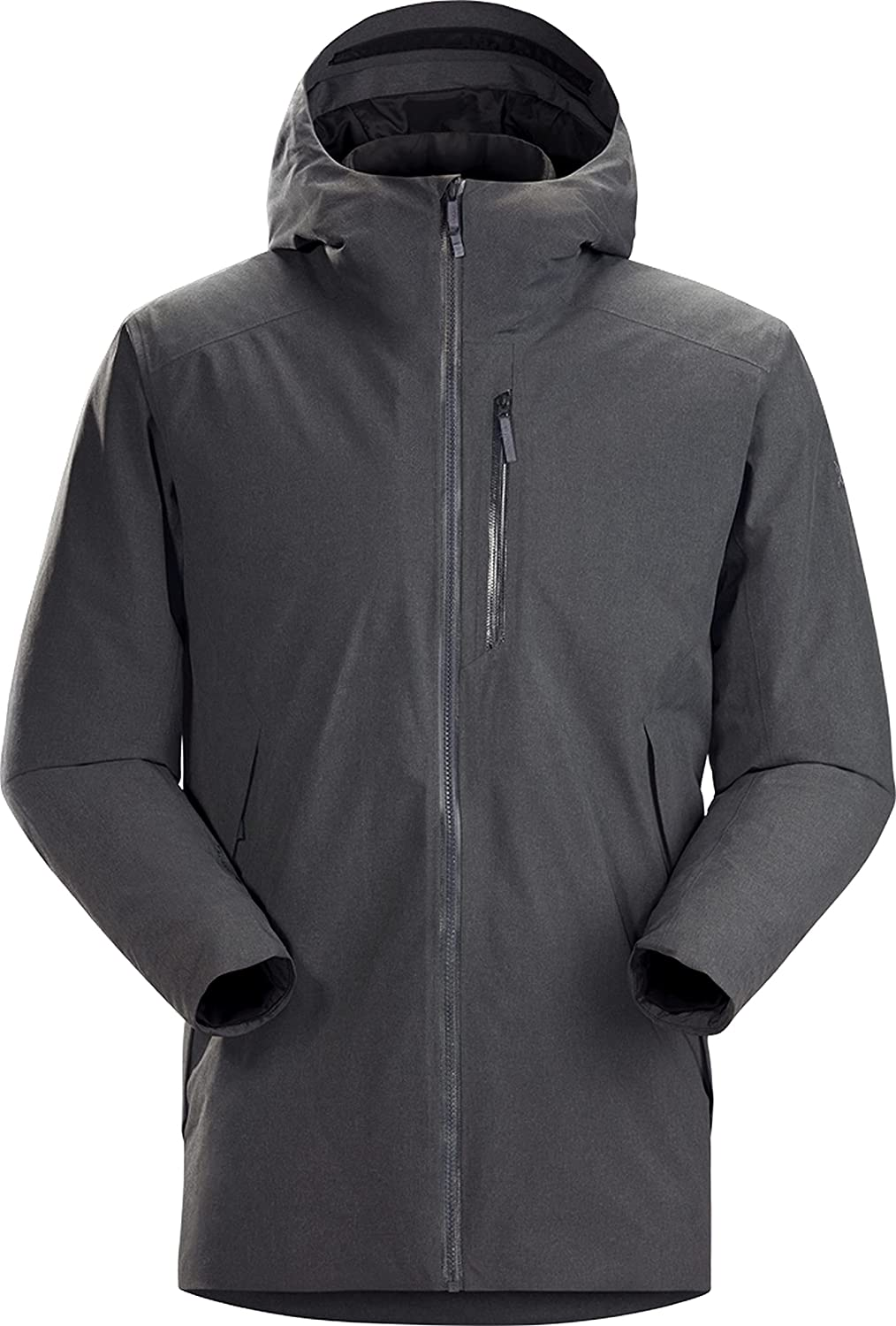 Arc'teryx Radsten Parka Men's | Waterproof, synthetically Insulated Thigh Length Parka for City Living.