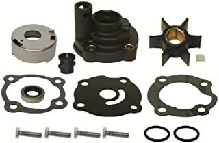 EMP Water Pump Impeller Kit with Housing Johnson Evinrude 20 25 28 Hp 1979-1984 Replaces 395270 18-3383 Read Item Description for Applications