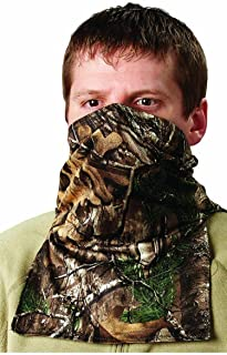Hunters Specialties Scent-A-Way Silver Realtree Xtra Lightweight Spandex Neck Gaiter/Half Mask