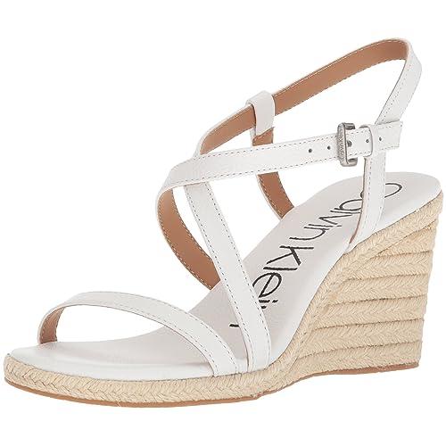 d1712757ce Calvin Klein Women's Bellemine Espadrille Wedge Sandal