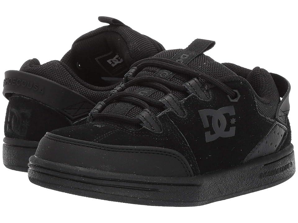 DC Kids Syntax (Little Kid/Big Kid) (Black/Black/Black) Boys Shoes