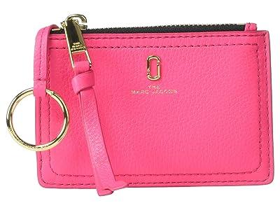 Marc Jacobs Top Zip Multi Wallet (Pink Opulence) Wallet Handbags