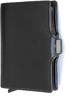 LOTHUS Portafoglio Uomo Donna Slim Protezione RFID Porta Carte Di Credito Schermato 2a Generazione Sottile Portamonete Por...