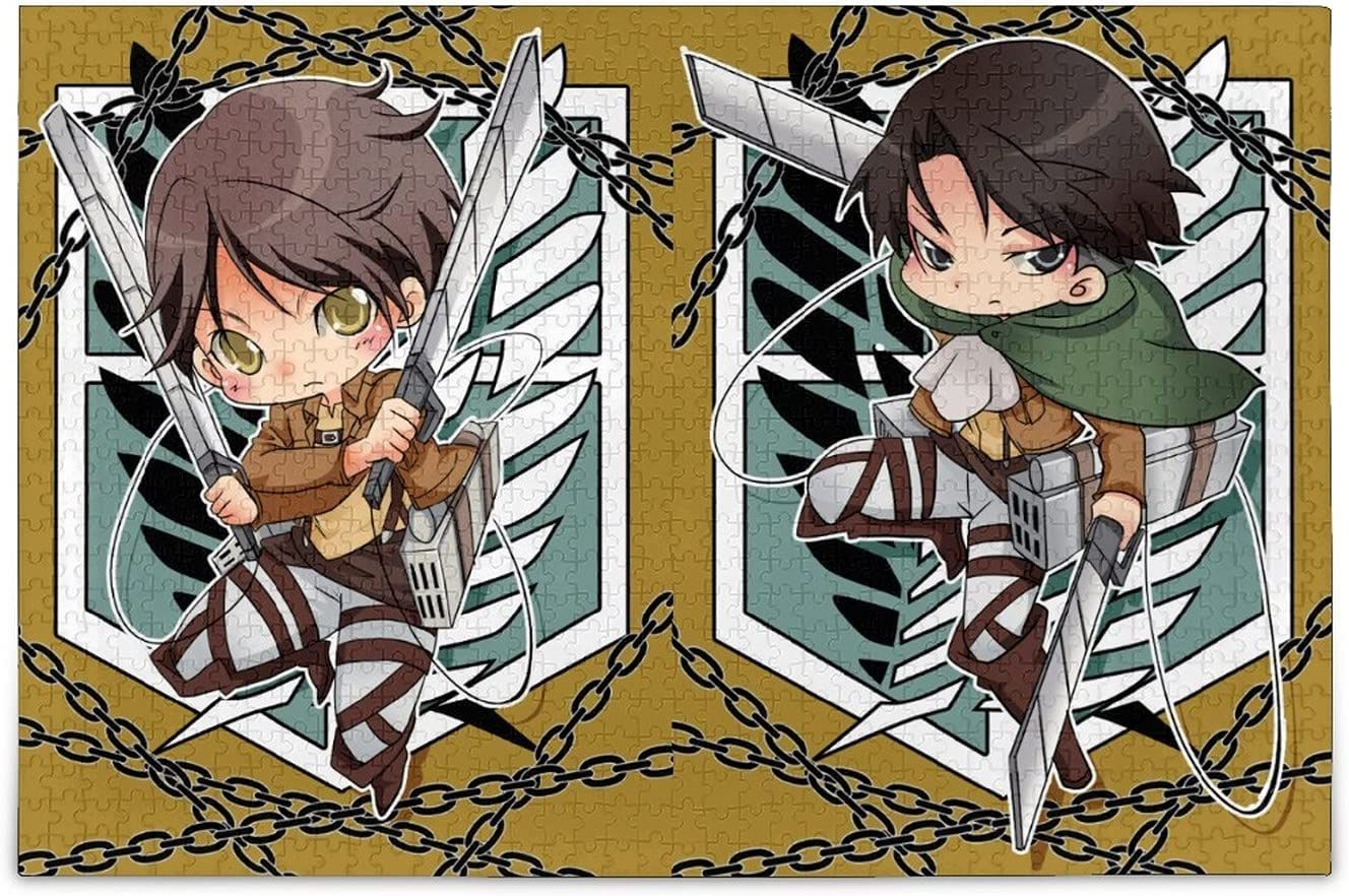 500 Piece Jigsaw Puzzle for Adults Denver sale Mall Attack On Titan Families and