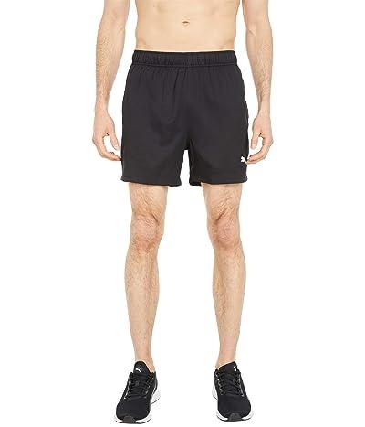 PUMA Active 5 Woven Shorts (PUMA Black) Men