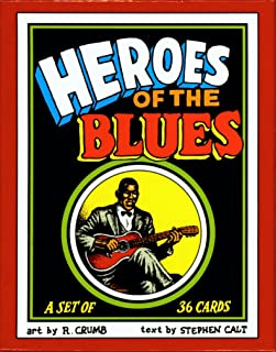 Heroes of the Blues Boxed Trading Card Set by R. Crumb