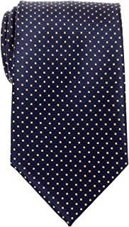 Modern Mini Polka Dots Woven Microfiber Men's Tie - Various Colors