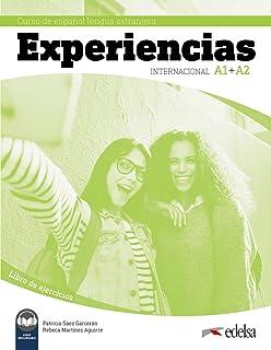 Experiencias Internacional A1 + A2. Libro de ejercicios: Libro de ejercicios (A1-A2) + audio descargable