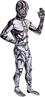 Morphcostumes Android by Morphsuits Boys Costume Size Large 10/12 Gray
