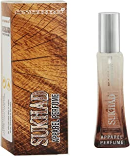 SYSPRO Perfume Natural & Long Lasting Apparel Perfume Spray For Men, Woman & Unisex Special For Valentine's Day & Birthday Gift 50 Ml (Sukhad)