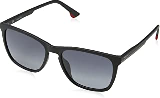 5070904c02 Police Track 6 Gafas de sol, Negro (Semi-matt Black), 55