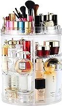 Makeup Organizer, Boxalls Rotating 360 Degree Crystal Adjustable Jewelry Cosmetic Perfumes Display Stand Box, 380 x 260 MM...