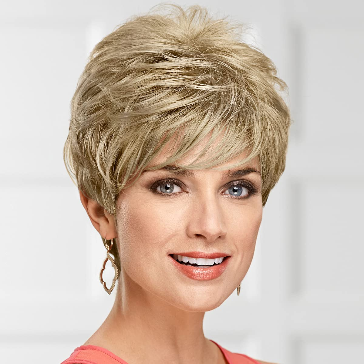 New mail order Lauren WhisperLite Wig by Fees free Paula Young Short Pixie Spirited - Wi