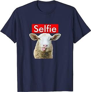 Funny Selfie Sheep T-Shirt