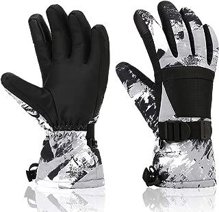 Ski Gloves, Yidomto Winter Waterproof Warm Touchscreen Snow Gloves Mens, Womens, Boys, Girls, Kids