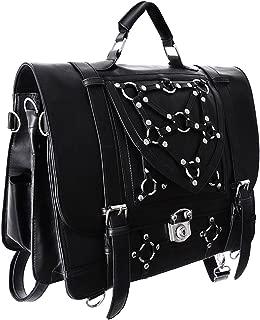 Restyle Gothic Witchcraft Bondage Messenger Expandable 3 Way Bag
