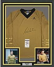 Framed Autographed/Signed William Shatner 33x42 Star Trek Captain Kirk Shirt/Uniform JSA COA