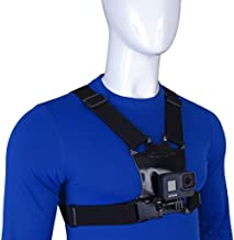 STUNTMAN Chest Mount with J Hook for GoPro and Other Action Cameras