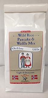 Ole & Lena Wild Rice Pancake & Waffle Mix 14 oz 2 pack