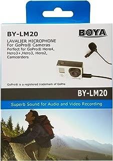 Boya BY-LM20 Gopro İçin Yaka Mikrofonu