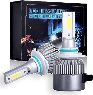 SCITOO 9006/HB4 Cree Combo Set Upgrade LED Headlight Kit Bulbs, Super Bright 80W, 6500K, 7200LM Dual Beam Head Lamp Bulbs