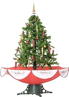 HOMCOM Árbol de Navidad 140cm Artificial Árbol con Luces
