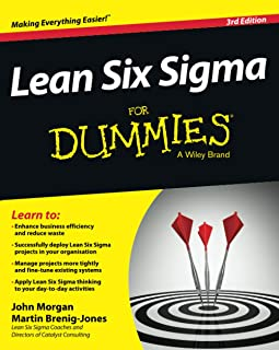 Lean Six Sigma For Dummies (For Dummies (Business & Personal Finance))