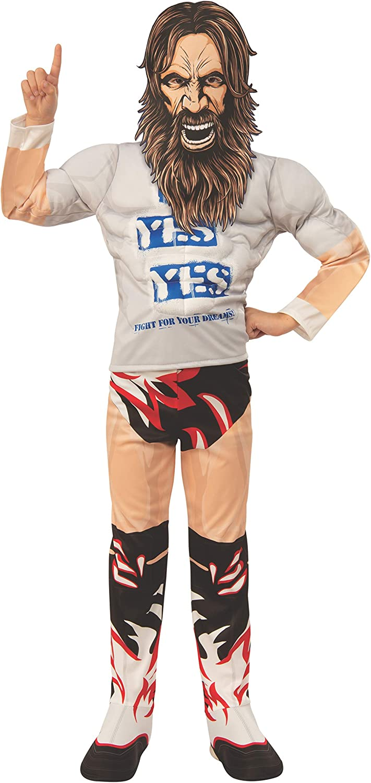 or Large NEW Halloween Costume Boy/'s Wrestler Daniel Bryan Small