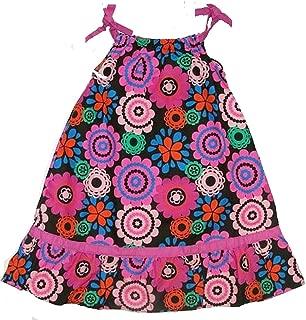 Boutique Girl's Black Floral SunDress, Dress