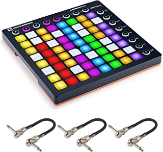 Novation Launchpad MK2 64-Pad Grid Controller for Ableton Live - Bundled with 3 MXR Patch Cables