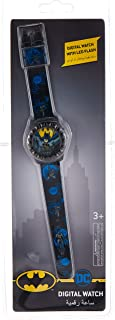Batman - Kids Digital watch with LED Flashing light - Outdoor Electronic Wristwatch (6-15 years Boys)