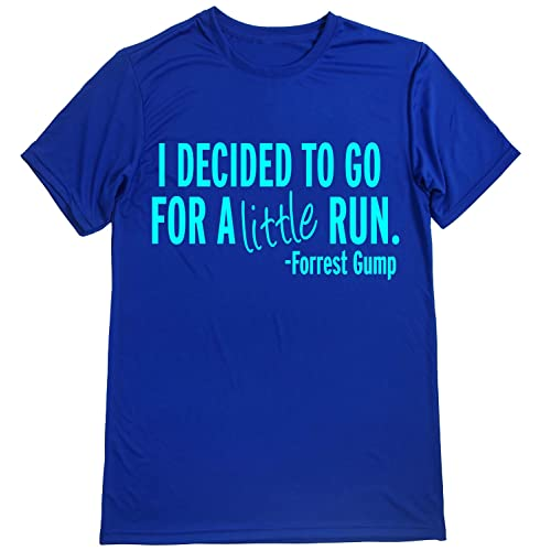 Dry Sports Shirt – Men Runner s T-Shirts - Running Quotes -I Decided to 4b6a1960276
