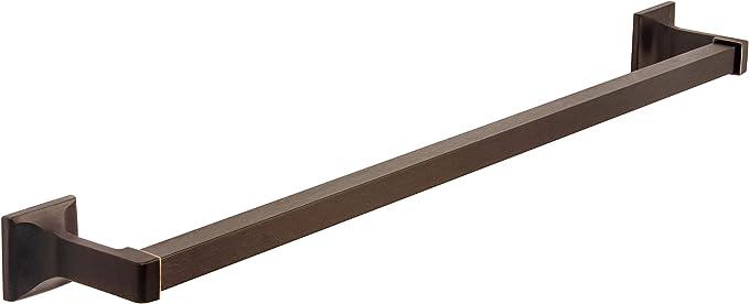 "MBA2221 Designers Impressions Eclipse Series Black 24/"" Towel Bar"
