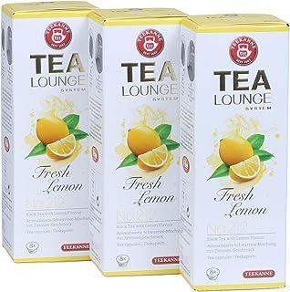 Teekanne Tealounge Kapseln - Fresh Lemon No. 212 Schwarzer Tee 3x8 Kapseln