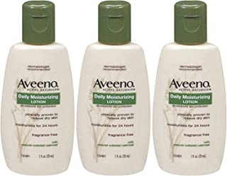 Aveeno Daily Moisturizing Lotion - 1 oz - 3 pk