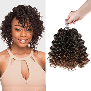 Multi-Pack Deals! FreeKalon Synthetic Hair Crochet Braids Curl Crush Deep Twist 8