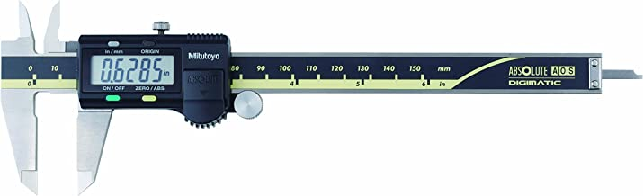 Mitutoyo 500-171-30 Advanced Onsite Sensor Absolute Scale Digital Caliper, 0-6
