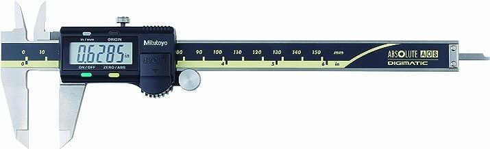 Mitutoyo 500-196-30CAL Absolute Advanced Onsite Sensor (AOS) Digital Caliper with Calibration, Inch/Metric, 0-6