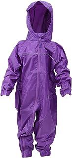 DRY KIDS - Waterproof Rainsuit 2 Yrs Purple