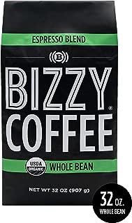 Bizzy Organic Coffee | Espresso Blend | Whole Bean | 2 lbs