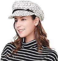 HIKARO Amazon-Marke Damen Ballonmütze Fiddler Cap Elbsegler mütze