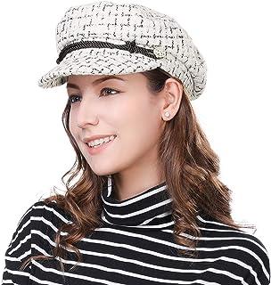 2cb2948f90c Comhats Fashion Newsboy Cap Womens Fisherman Greek Hat Satin Lined Winter  Fall 55-60CM